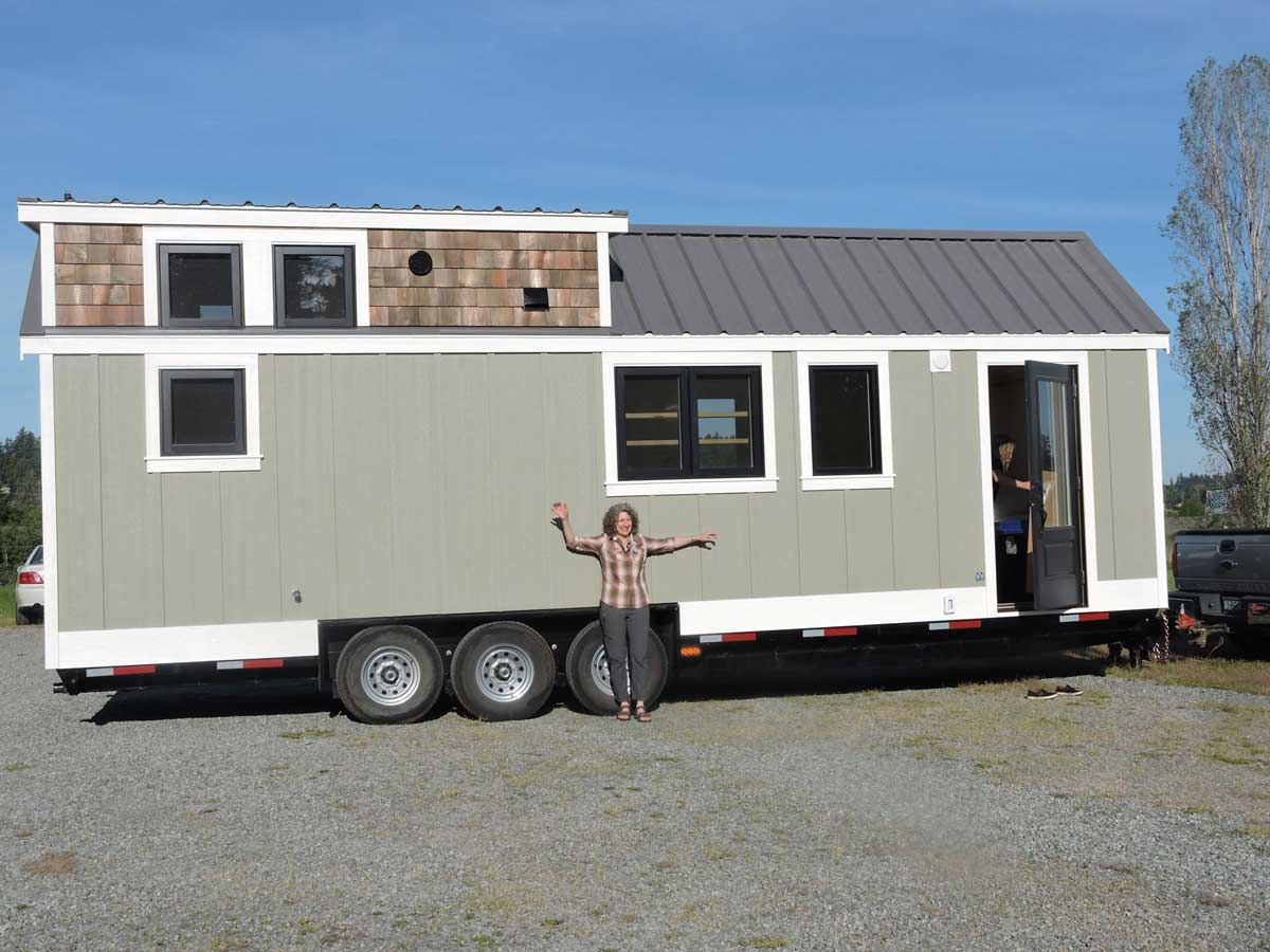 Tiny house shown at the Tiny House Showcase 2019
